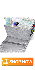 Gimars Baby Diaper Caddy Organizer