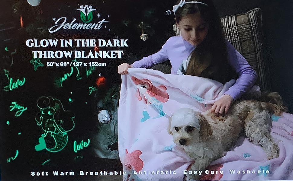 Each glow in the dark blanket creates  childhood memories