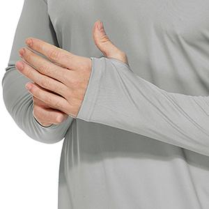 Thumb holes