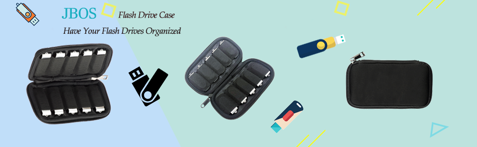 Flash Drive Case, USB Organizer, USB Case, Flash Drive Organizer, USB holder, flash drive Holder