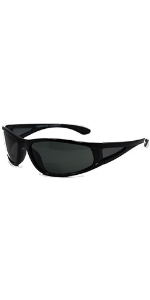 In Style Eyes Del Mar Wrap polarized bifocal sunglasses for men and women. Reader sunnies wraparound