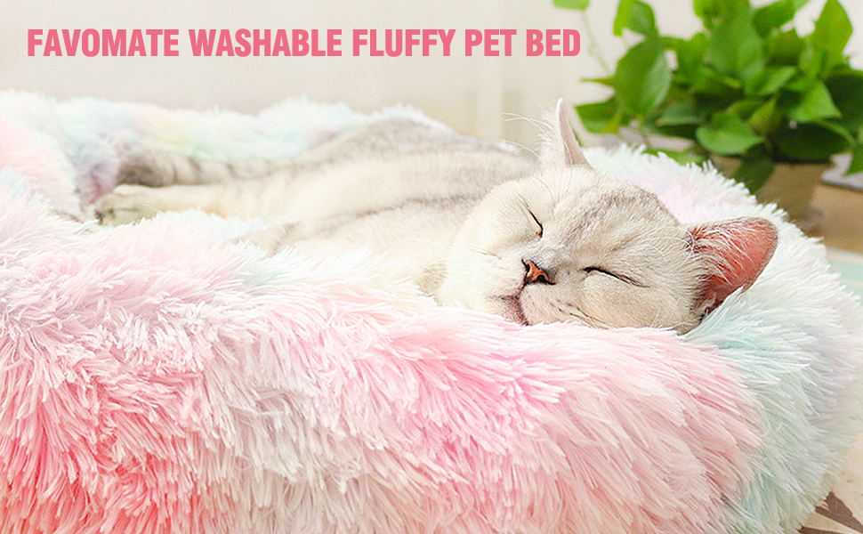 marshmallow pet bed