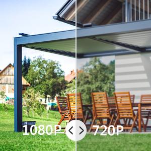 REIGY H.265 Kit Cámaras de Vigilancia WiFi Exterior 1080P, 8CH NVR Sistema de Seguridad Inalámbrico con 1TB HDD, Visión Nocturna, Detector de Movimiento, IP66 Impermeable para Jardín en Casa Negro: Amazon.es: Electrónica
