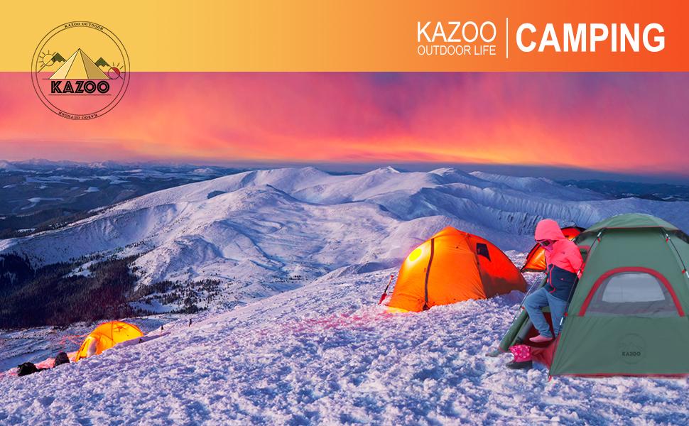 KAZOO MERCURY CAMPING TENT