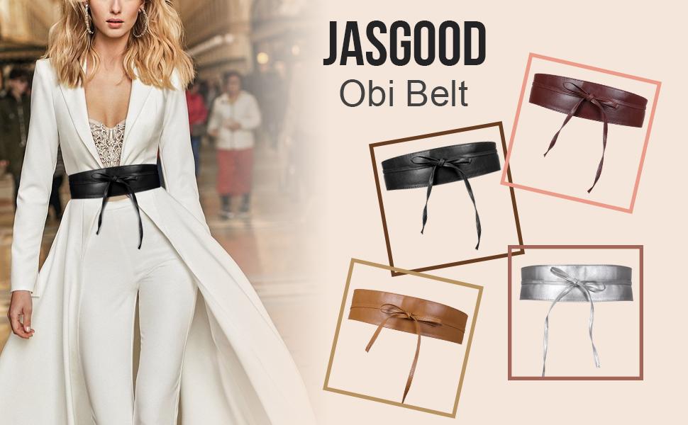 women wide PU leather waist belt