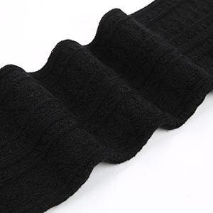 knitting thigh high socks