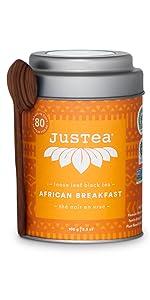 african breakfast loose leaf organic fair trade tea