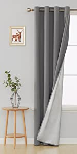 navy blue curtains for living room bedroom silver curtains blue drapes panels thermal insulated