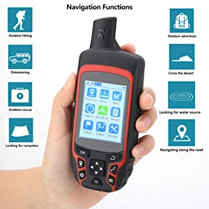 Rechargeable Handheld GPS Navigation