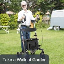 upright walker