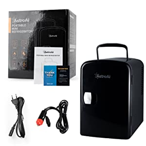 AstroAI 4L Mini Nevera Pequeña Portátil 12 V/220 V para Coche y ...