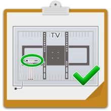 RICOO S7244, Soporte TV Pared, Giratorio, Inclinable, Televisión 32-65