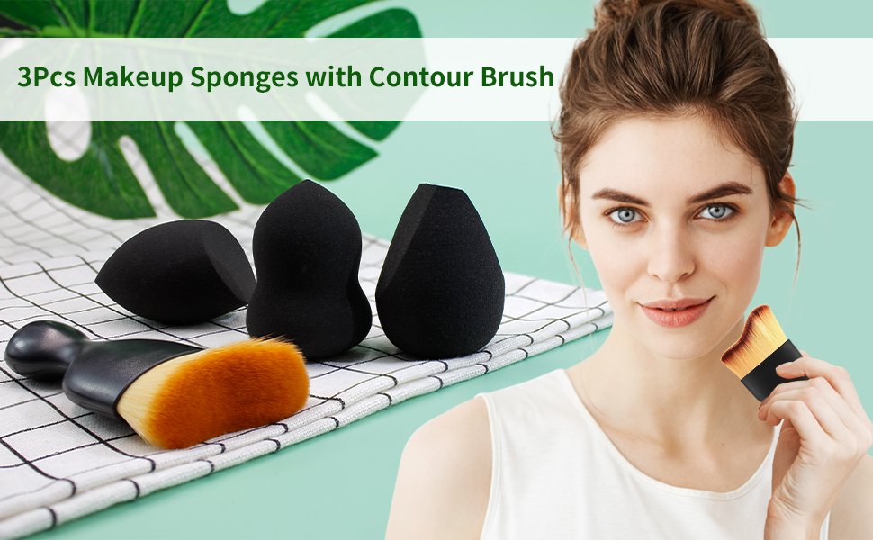 makeup brush & blender beauty makeup sponge