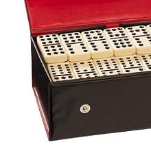Double twelve dominoes