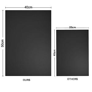 Larger bottom oven liner