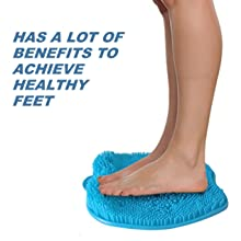 bathtub foot scrubber care scrub massage massager shower cleaner feet athletes toe fungus tired achy