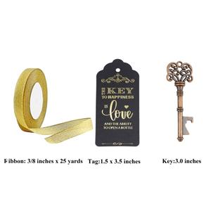 big keys decoration wedding favor charms guest wedding ideas halloween bottle opener