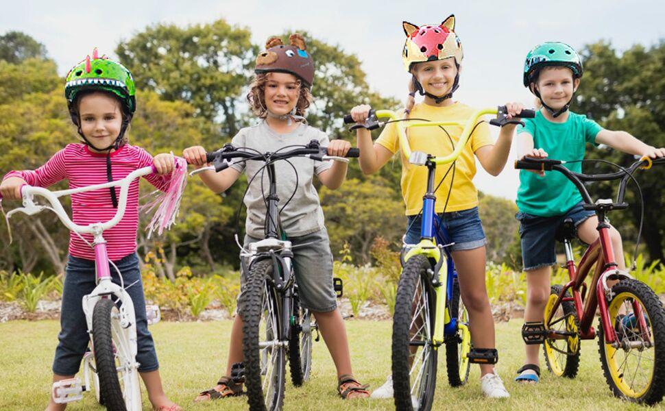 Kids riding bike helmet
