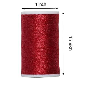 Polyest thread