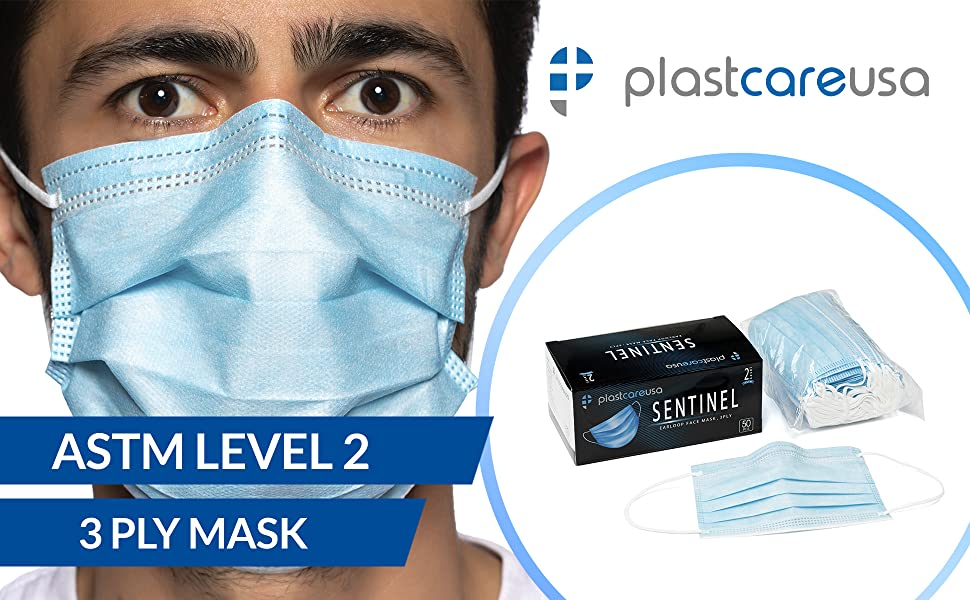 astm level 1 2 3 medical blue earloop aami face dust flu surgical medical supply ppe office