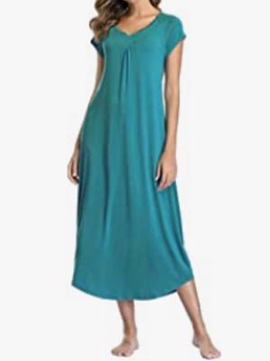 floor length nightgown