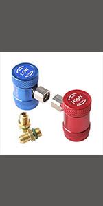R1234yf quick couplers