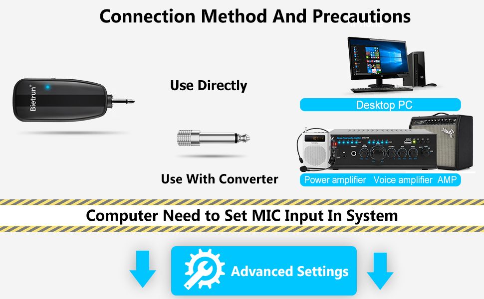 Wireless Microphones bluetooth