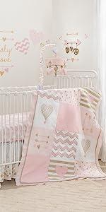 Baby Love 6-Piece Crib Set