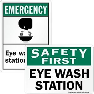 Safety First Eye Wash Station