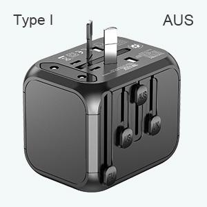 Aus travel plug adapter