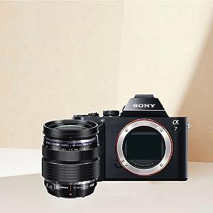 Olympus OM lente Sony NEX Cámara Videocámara Anillo Adaptador Convertidor De Montaje-E NEX6