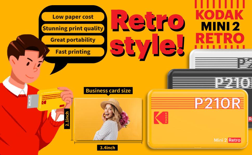 portable picture printer bundle photo printer smartphone bundle kodak zink paper 2x3