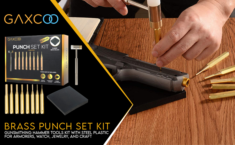 Brass punch set kit