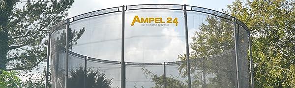 Trampoline-net als valbescherming bij tuintrampolines voor maximale veiligheid en comfort bij het springen