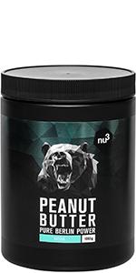 pindakaas peanut butter 1 kg natuurlijke pindakaas veganistisch zonder suiker zonder olie of palmvet