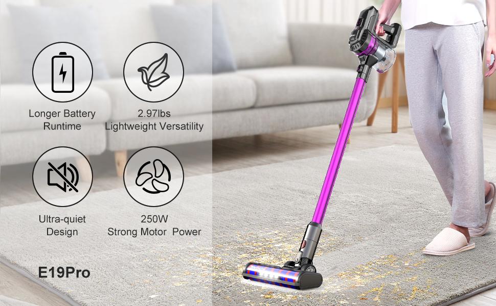 ungraded dibea vacuum cleaner