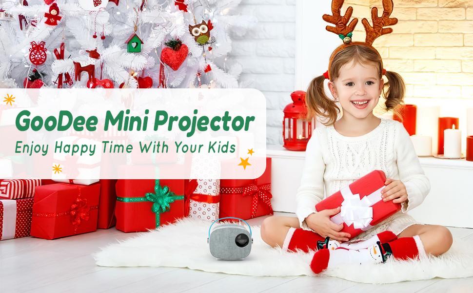 GooDee Mini Projector