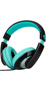 over ear headphones, headphone with mic