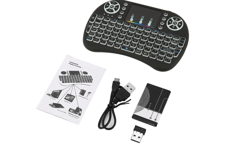 keyboard with touchpad for tablet mobile smart tv keyboard with backlight wirless keyboard