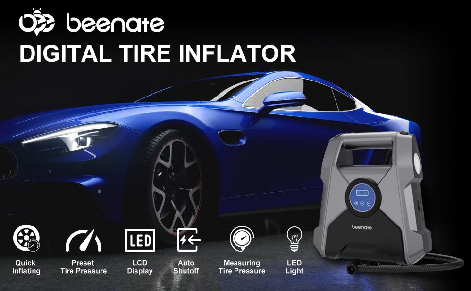 4. air compressor tire