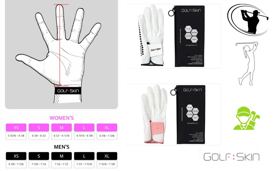 womens golf gloves both hands