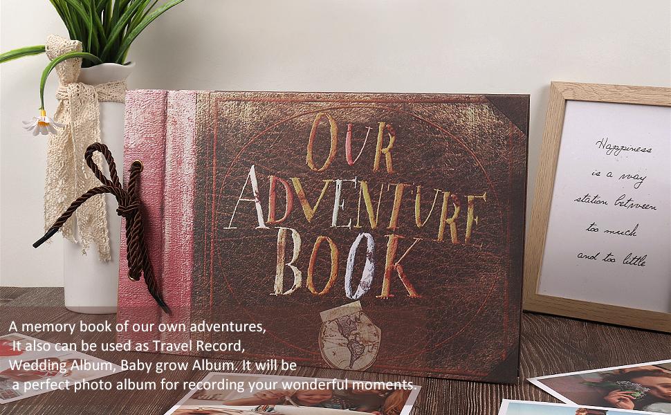 adventure book scrapbook