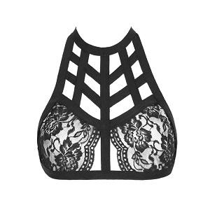 cross lingerie bra