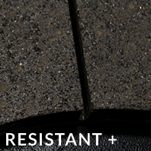 Resistant Plus Superior heat transfer ability offers a wider range of operating temperature