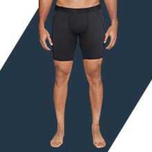 An ultra-soft compression biker shorts for men feels like second skin