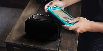 switch lite case,switch lite carry case,switch lite travel pouch,switch lite cover,switch lite shell