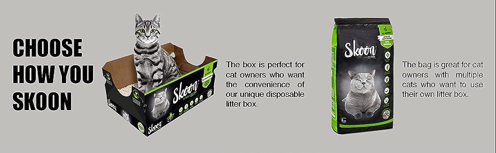 skoon all natural cat litter choose how you skoon