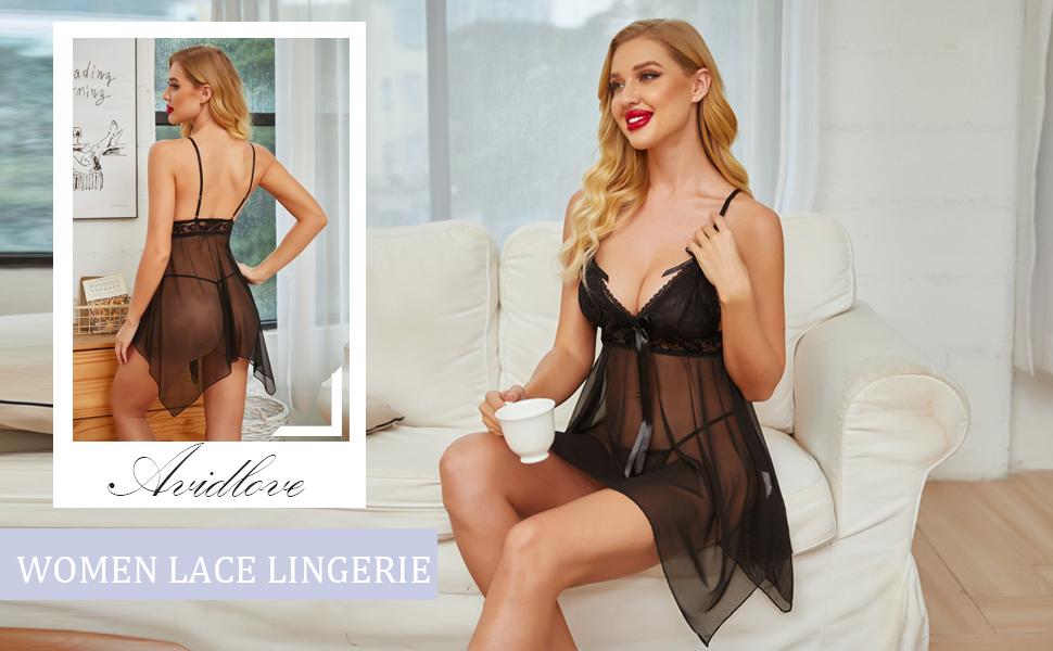 lace babydoll lingerie