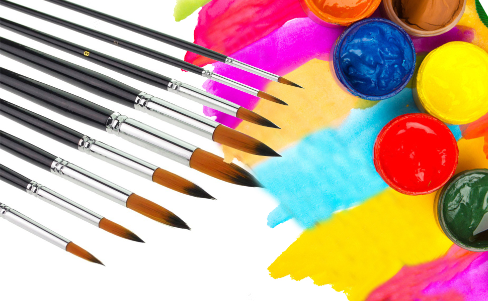 paint brushes for painting,artist paint brush set
