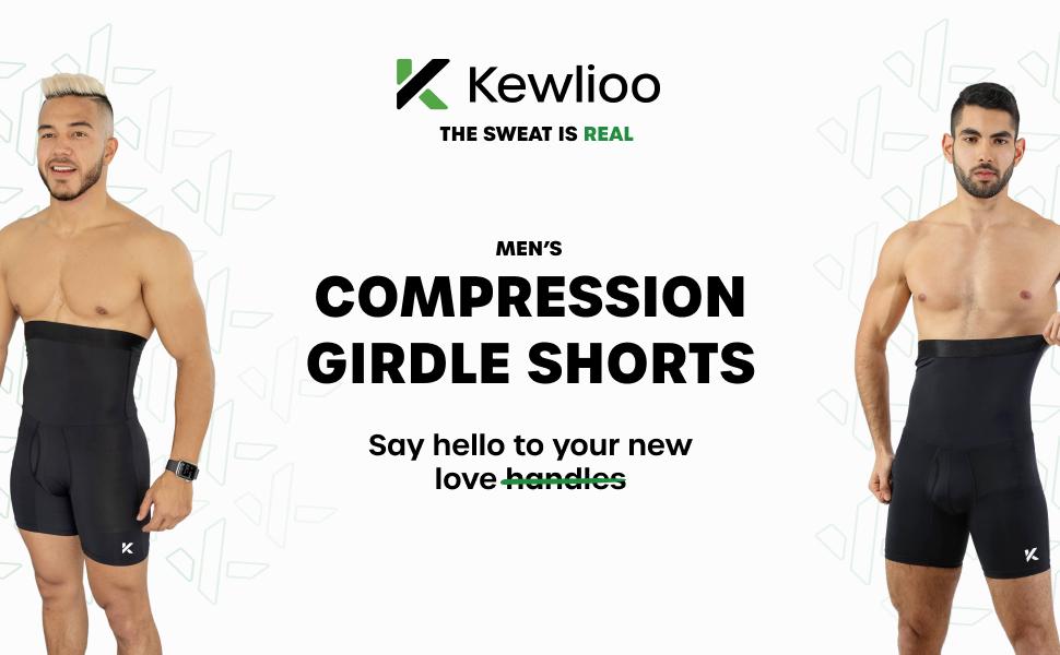 Yinsold LIN Mens Girdle Compression Shorts-ShaperMen Shaper for Gentlemen